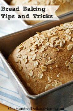 Bread Baking Tips and Tricks Useful Life Hacks, Life Hacks