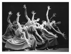 Alvin Ailey American Dance Theater Performers Art Print