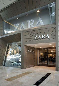 Zara facade.