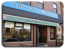 One of my favorite Sunday breakfast places, Sabrina's Cafe.  1804 Callowhill (also in Drexel Hill and Italian Market).