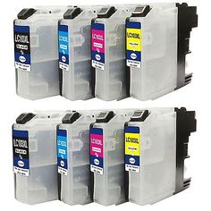 Compatible ink Cartridge for Brother LC103XL use in Brother MFC-J285DW (2 sets)