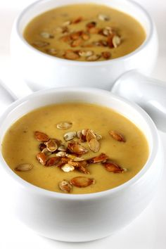 Butternut Squash and Cream Cheese Soup