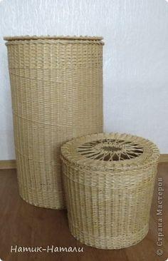 Поделка изделие Плетение Большая и маленькая Трубочки бумажные фото 6