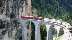 Landwasser Viaduct Tourism Switzerland