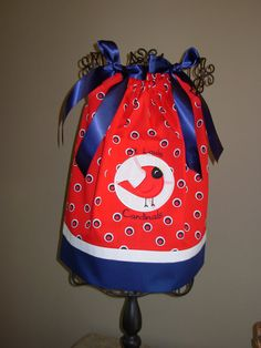 St Louis Cardinals Pillowcase Dress by STLGIRL on Etsy, $25.00