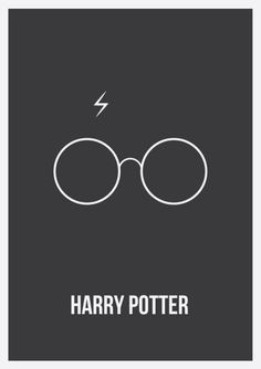 Harry Potter Minimalist Poster