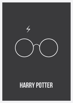 Harry Potter Minimalist Poster