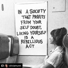 WORD !!! #Repost @oliviamunn with @repostapp ・・・ May we all be rebels