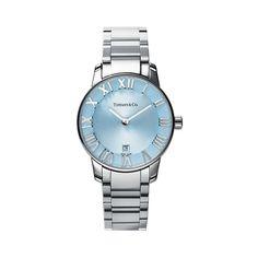 Atlas® 2-Hand 29 mm women's watch in stainless steel.