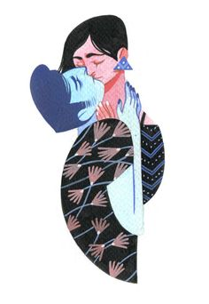 Rachel Suggs Illustration — Couples from the sketchbooks ink/gouache/pen