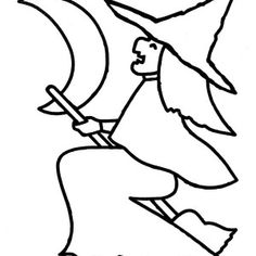 Smiling Jack O' Lantern with Witch Hat on Halloween Day Coloring Page: Smiling Jack O' Lantern with Witch Hat on Halloween Day Coloring Page – Coloring Sun