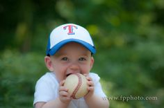 first birthday baseball themed photo session - Google Search