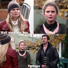 """I love that Tink is like """"absolutely not! No freaking way!"""" And Hook is like """"well, if it makes you jealous then yeah, maybe. Whatcha gonna do about it?"""""""