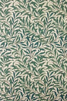 'Willow boughs' textile design by William Morris, produced by Morris & Co. 1887