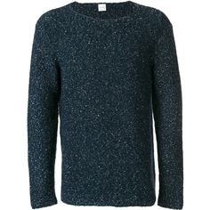 Paul Smith textured jumper (16.945 RUB) ❤ liked on Polyvore featuring men's fashion, men's clothing, men's sweaters, blue and mens blue sweater