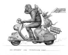 Adi granov's travelling man