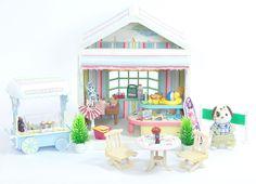 *fistuff* Sylvanian Families Decorated Beach House/Shop, Ice Cream Set + Lots    eBay