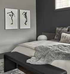Mia Rao Design  - Chicago Lincoln Park Penthouse  Master Bedroom