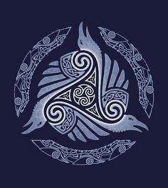 Resultado de imagen de stencils nordicos y celtas