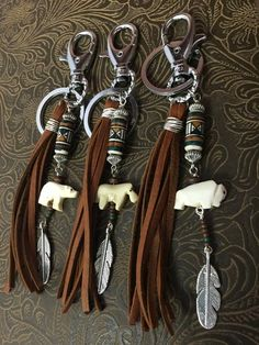 Amazing handbags thought for you, Leather Tassel Keychain, Leather Earrings, Leather Jewelry, Leather Craft, Boho Jewelry, Jewelry Crafts, Beaded Jewelry, Jewelery, Handmade Jewelry