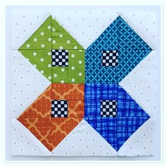 Splendid Sampler, block 89, Colorado To The Midwest.  (Laila Nelson)