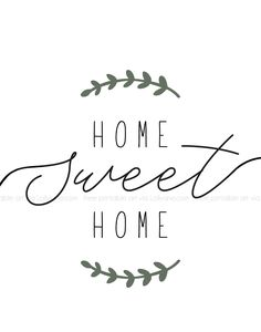 """Home Sweet Home"" Printable Farmhouse Art - Lolly Jane - ""Home Sweet Home"" printable farmhouse art. Simply print and hang to add instant farmhouse charm - Farmhouse Wall Art, Farmhouse Decor, Free Printable Art, Free Printables, Sweet Home, Diy Holiday Gifts, Home Signs, Diy Design, Interior Design"