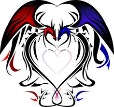 Dragon Hearts | Heart Dragons By Silentsleeper On Deviantart - Free Download Tattoo ...