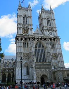 One of the sights seen on our London sightseeing trip; all done for free