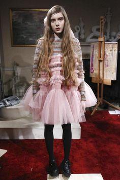 Molly Goddard Ready To Wear Fall Winter 2015 London