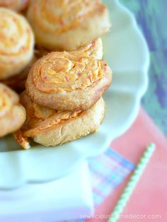 Pimento Cheese Pinwheels. I'll be trying this with my recipe for Pimento Cheese. ~Kathy