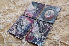 ОТРАЖЕНИЯ: Аrtist Trading Card. Серия Deer Purple