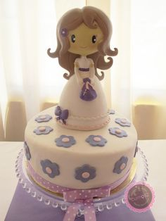 First Communion Cakes, Sugar Rush, Sweet Cakes, Cold Porcelain, Creative Cakes, Cake Pops, Cake Toppers, Biscuits, Cake Decorating