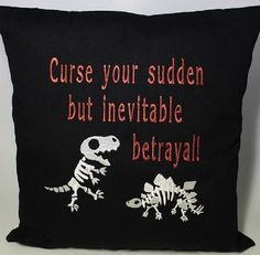 Firefly pillow. Wash may be my favorite character.