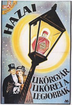 vintage_ads: Old Hungarian Posters Vintage Advertising Posters, Vintage Advertisements, Vintage Ads, Vintage Posters, Retro Posters, Movie Posters, Budapest, Retro Ads, Illustrations And Posters