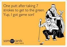 Yes, Yes I do. ;)   Rock Bottom Golf #RockBottomGolf