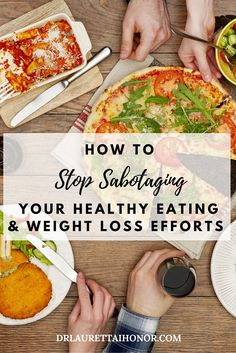 Think losing weight & healthy eating is hard? It's not.The hard part is doing the things you need to do to lose weight & that's because of self-sabotage.