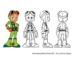 The Lad From Space Model Sheet by kevinbolk.deviantart.com on @deviantART