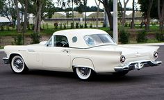 1957 Thunderbird..Re-pin brought to you by agents of #carinsurance at #houseofinsurance in Eugene, Oregon