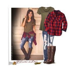 Army Green, Buffalo Checks & Ripped jeans