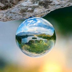 Wherever you go, capture your world in perfect wide-angle!  #lensball  The creator @nejcheberle is a real Slovenian legend, go check him out, his work is extrordinary!