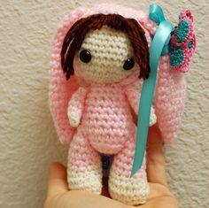 Crochet Easter Bunny Doll by ZayaLosya on Etsy