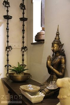 Entrance area country style living room by country - Christina Farias - Indian Living Rooms Indian Home Decor, Country Living Room Design, Indian Living Rooms, Country Style Living Room, Indian Decor, Entryway Decor, Indian Homes, Entrance Decor, Buddha Decor