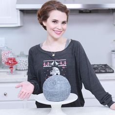 Learn How To Make A Death Star Cake [Video]
