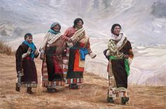 Han Yuchen's retrospective reveals his beloved paintings of Tibet and its people