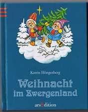 Nostalgie Bilderbuch, Katrin Höngesberg  Weihnachten im Zwergenland  70er Jahren