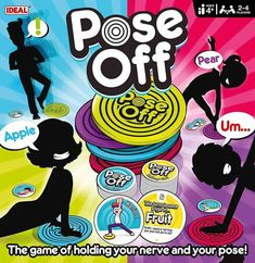 Another fantastic game from John Adams where the idea is to get you moving. Pose Off is quick and easy to learn and will have you in hysterics. You will have to hold yoga poses whilst shouting out answers! All players have their own coloured mat and take turns to do the challenge. BUT if you repeat an answer, stumble from your pose or leave your mat, you're out! The last one standing wins the pose card. Suitable for ages 4 years and over. Available from Amazon priced £18.37. Christmas Gift Guide, Christmas Games, Christmas Gifts For Kids, The Floor Is Lava, Off Game, Fun Party Games, Board Games For Kids, Shake It Off, Gifts For Mum