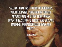 He that would make his own liberty secure, must guard even his enemy from oppression; - Thomas Paine at Lifehack Quotes Thomas Paine Quotes, Equality Quotes, Atheist Quotes, Atheist Humor, Secular Humanism, Anti Religion, Founding Fathers, Atheism, Critical Thinking