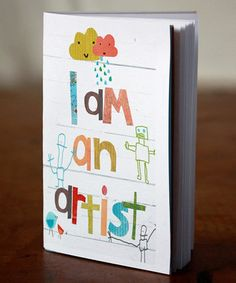This sketchbook from Children Inspire Design by Rebecca Peragine is so cute I can barely stand it!!