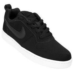 Zapatillas Nike Recreation Low - Negro+Blanco