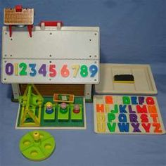 Schoolhouse. I loved this and played with it all the time!